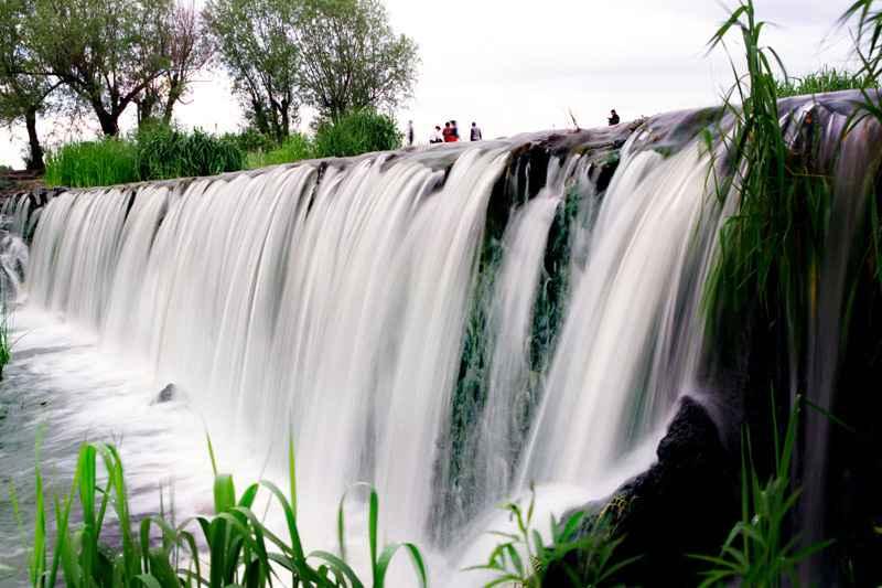 yaoquan湖瀑布